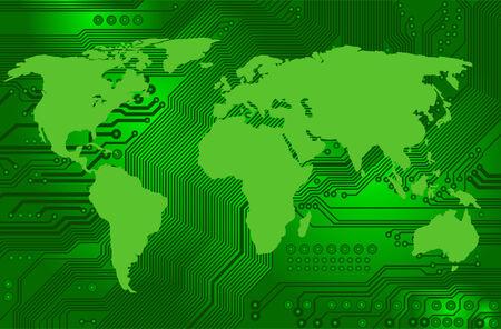 conectividad: conectividad de internet internacional