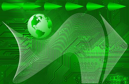 conectividad: conectividad de internet internacional - vector