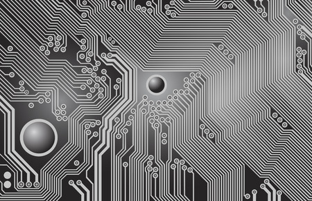 electronic components: printed circuit