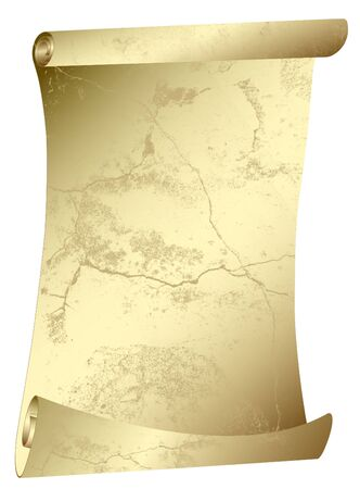 antique scroll - old parchment - in grunge style Stock Photo - 6482136