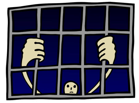 prisoner - vector Stock Vector - 6562579