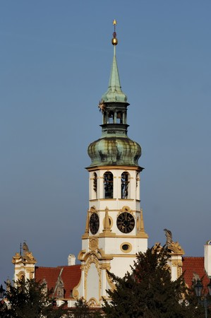 peregrinación: Praga Loreto - Iglesia de peregrinaci�n famoso