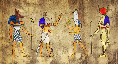Egyptian Gods and Goddess photo