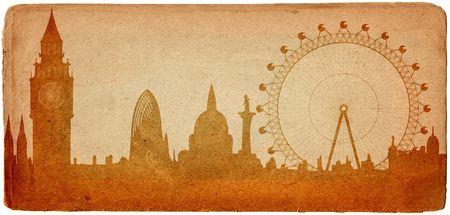London skyline looks like old postcard