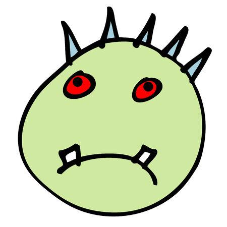 bugaboo: boogeyman head