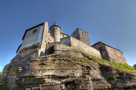 crenelation: Kost Castle - large Gothic castle