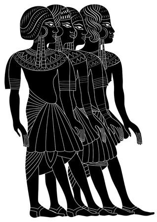 vector - Women of Ancient Egypt Stock Vector - 7803319