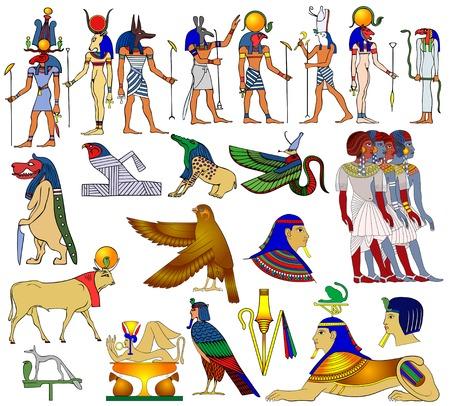 sphinx: Temi vettore dell'antico Egitto