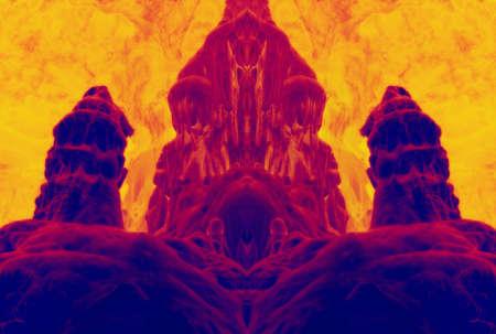 fossilized dwarf - image enhanced Stock Photo - 8427754