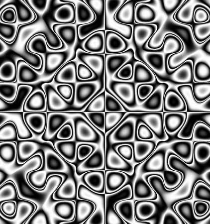 jitter: oscillating chaos - pattern - ornament Stock Photo