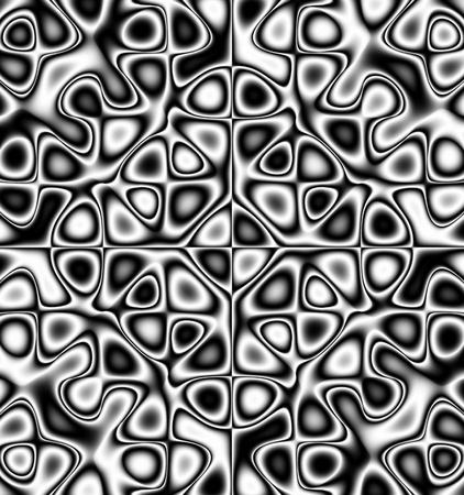 jitter: oscillating chaos - pattern - ornament Stock Photo