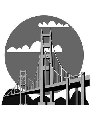 logotipo turismo: Puente Golden Gate