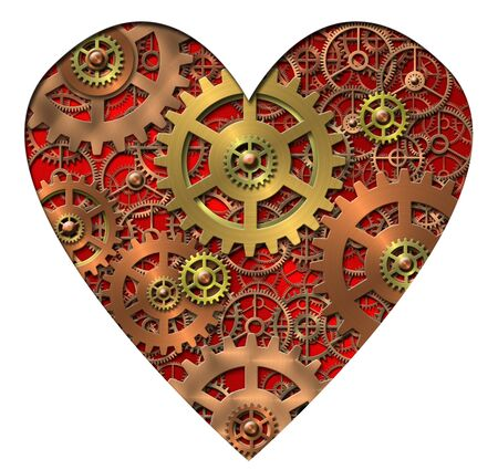hard love: mechanical heart - gears