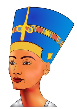 Nefertiti -  queen of ancient Egypt  Vector
