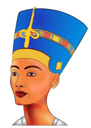 Nefertiti - koningin van het oude Egypte