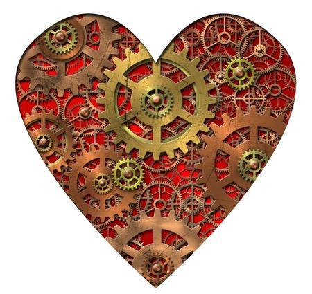 mechanical heart - gears