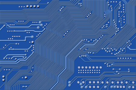 printed circuit - motherboard - technology abstract photo