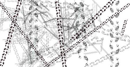 journeying: human tracks