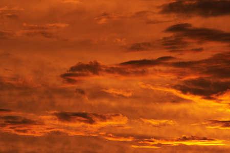 duskiness: rosy sky - gloaming