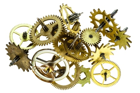broken clockwork mechanism Stock Photo - 13291213