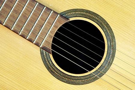 acoustic guitar - resonant photo