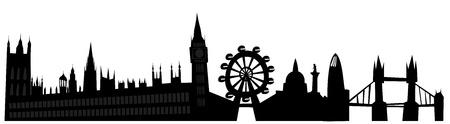 London skyline Stock Vector - 13729011