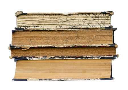 bibliomania: isolated old books