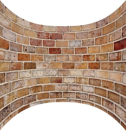 walling: brick wall Stock Photo