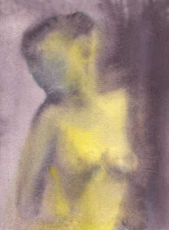 artistic nude: in the morning light