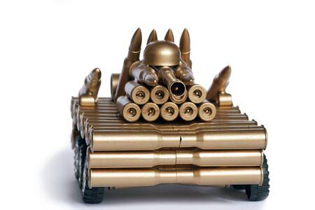 strangeness: Bizarre model - tank from shells