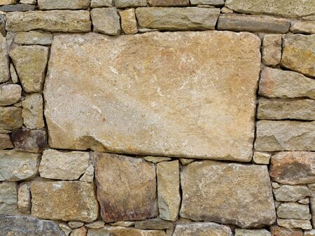 stone wall texture - abstract background photo
