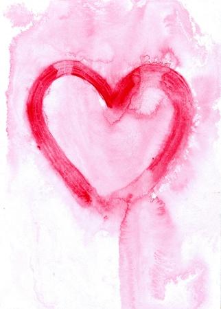 lovingly: heart - symbol of love Stock Photo