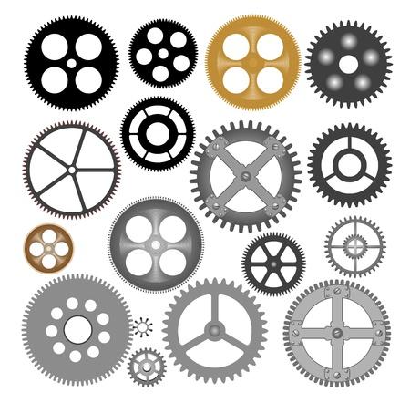 Vector gears - cogwheels Vector