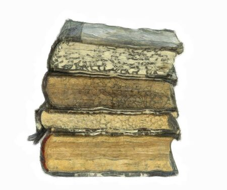 bibliomania: Heap of the old books