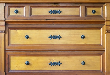old chest of drawers photo