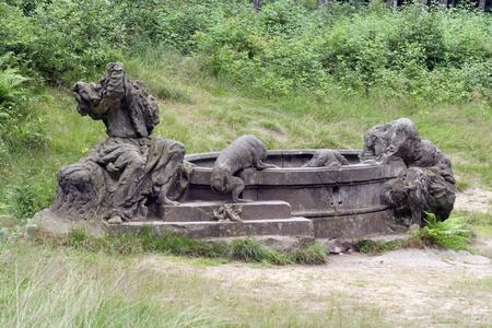 matthias: Kuks Forest Sculptures - Jacobs fountain