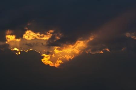 duskiness: rosy sky - twilight