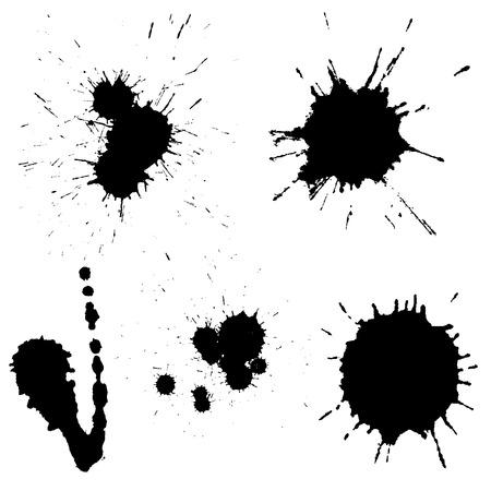 splodge: Vectorvarious blots