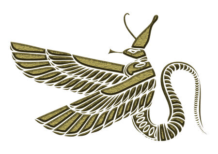 demoniacal: dragon - demon of ancient Egypt