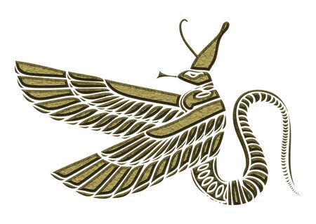 demoniacal: dragon - demon of ancient Egypt