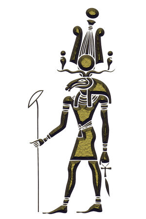 divinity: Khensu - God of ancient Egypt