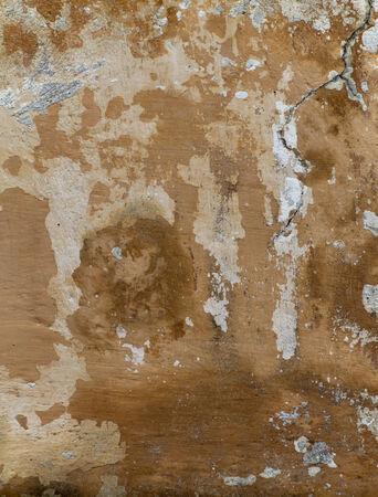weatherworn: old and damaged stucco - plaster