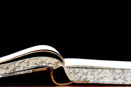 arcanum: open old book - a fount of knowledge