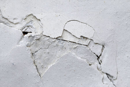 weatherworn: cracks in plaster - crack in stucco