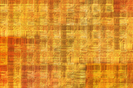 manipulate: printed circuit - motherboard - abstract technology background