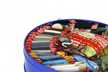 household work: various threads - sewing