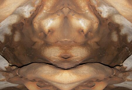 uncouth: monster from stone - digitally altered