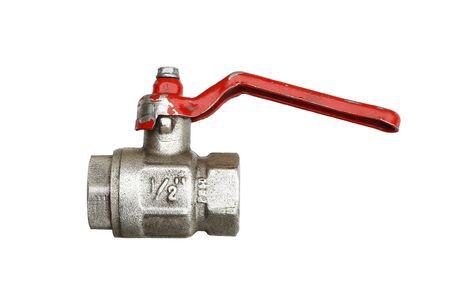 water faucet: water faucet - plumbing material Stock Photo
