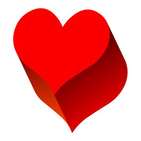 curare teneramente: Vector cuore