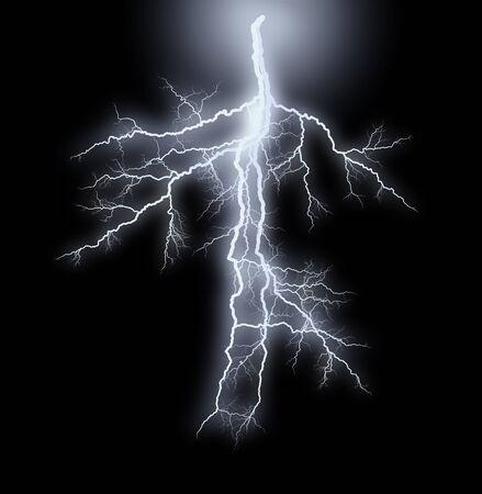 streak lightnings - storm